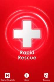 Medical Mobile Alerts - The Red Cross 'Rapid Rescue' App Draws Help from First Aid Responders Nearby