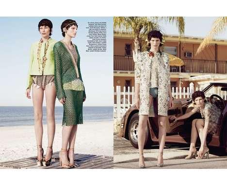 60 Vivacious Vogue Italia Features