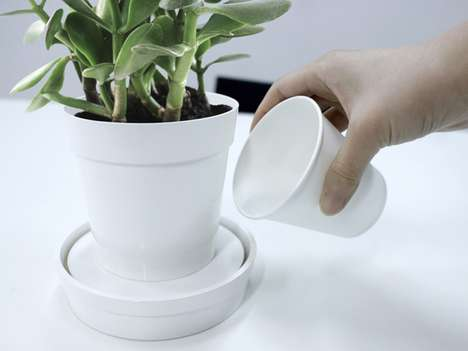 Self-Watering Planters