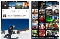 Instagram-Like Apps - The Mobile Facebook Camera is Similar to the Popular Network