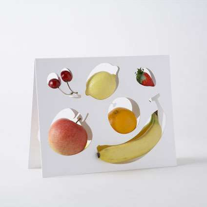 Produce-Shaped Cutout Dishware