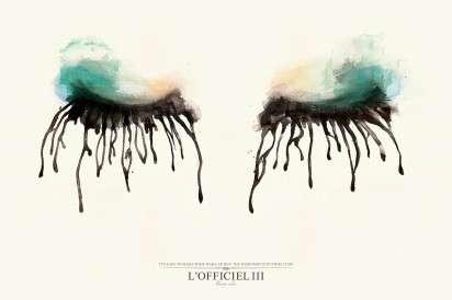 Watercolor Makeup Ads
