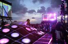 Top Floor Raver Lounges - The HWKN MINI Rooftop Hosts Sky-High Light Shows