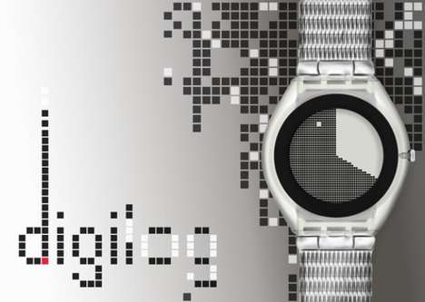 8-Bit-Influenced Wristwatches