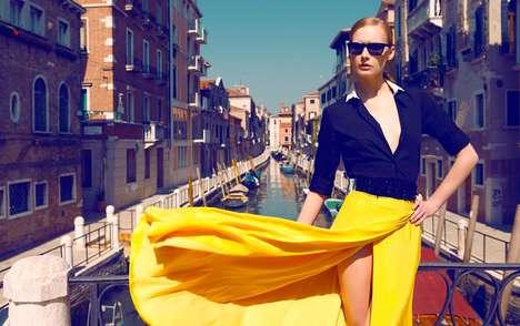 Glam Italian Editorials