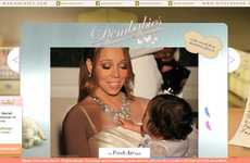 Celebrity Baby Blogs - The Newly Launched Mariah Carey Nick Cannon DemBabies Website is Cute