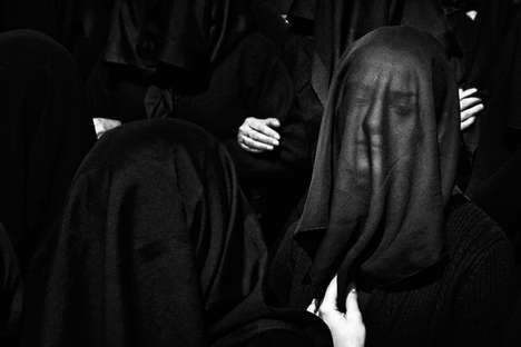 Veiled Mourner Captures