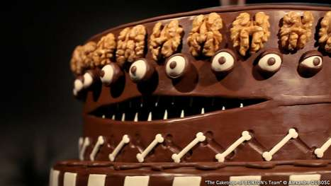 Ghoulish Delectable Cakes