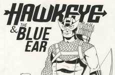 Heartwarming Customized Heroes - Marvel Comics Created 'Blue Ear' for the Hearing-Impair