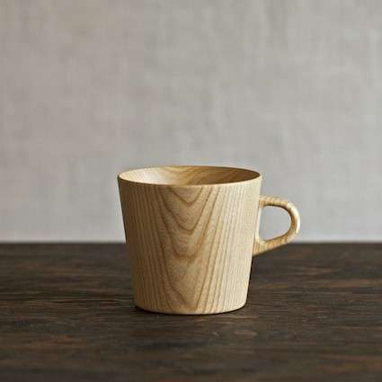Unembellished Timber Teacups - Kami Wood Mugs are Wonderfully Wooden and Exorbitantly Overpriced