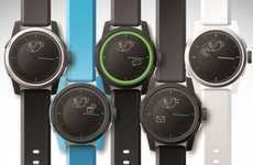 Smartphone-Linked Timepieces - The Cookoo Watch Connects to Devices as Extra Alert System