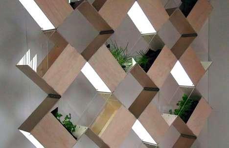 Squeezebox Planter Partitions