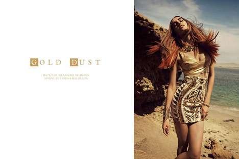 Warm Metallic Fashion