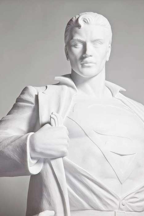 Superheroic Marble Masterpieces