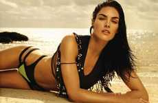 Gloaming Swimwear Galleries - The Vogue Spain 'El Cuerpo' Editorial Stars a Curvy Hilary Rhoda