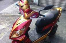 Rad Superhero Rides - The Iron Man Scooter is Worth Marvelling Over