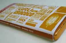 Carbon-Neutral Chocolate Bars - Gru Grococo Makes Going Green Delicious