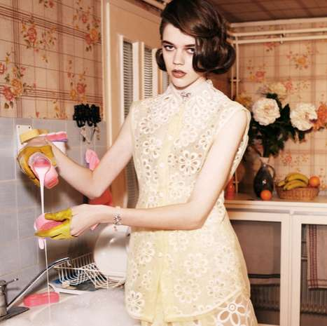 Saturated Housekeeping Editorials