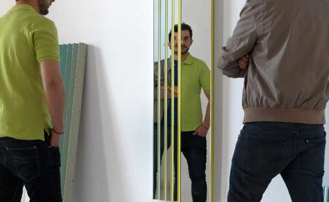 Aluminum Reflection Illusions