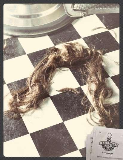Chopped-Off Hair Ads