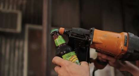 Musical Beer-Popping Videos