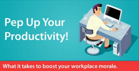 Productivity Infographic Shows How to Be More Productive at Work