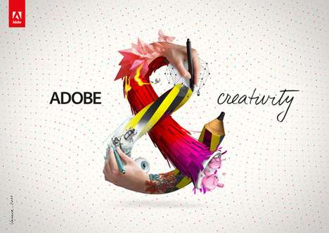 The 'Adobe &' Ad Campaign is Easy on the Eyes