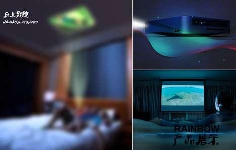 Wireless Projected Desktop Designs