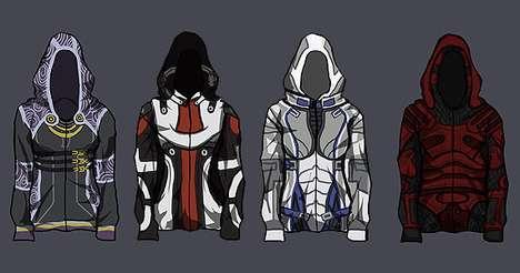 Custom Game Character Sweaters