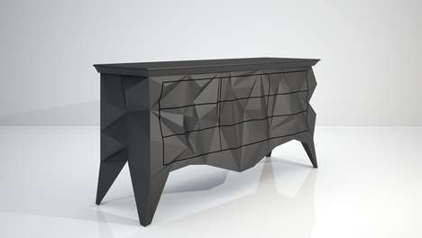 Crinkled Contemporary Furnishings