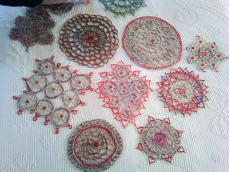 Chewing Gum Doilies
