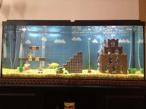 Geeky 8-Bit Aquariums