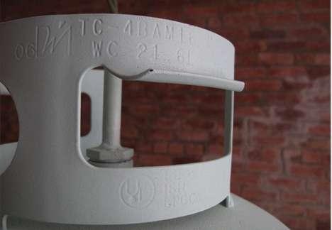 Propane Tank Lighting
