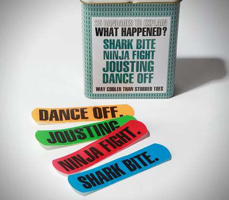 Self-Explanatory Band-Aids