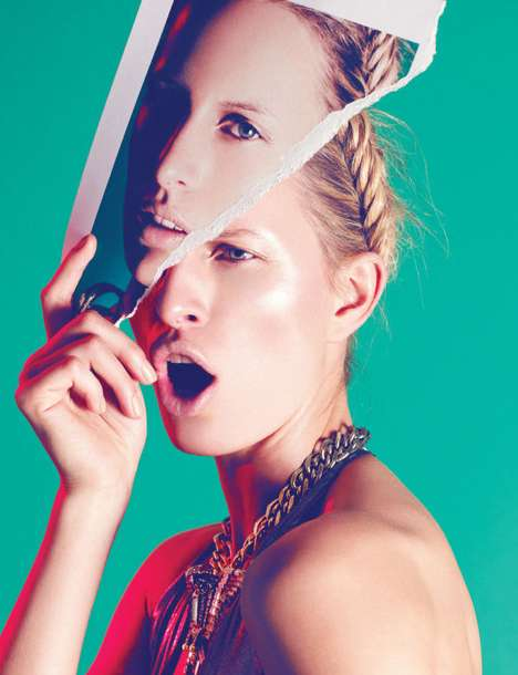 Lighthearted Gilded Editorials