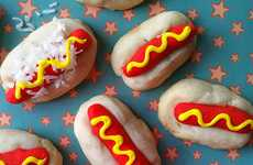 Sugary-Sweet Franks - These Hot Dog Cookies are Sure to Surprise and Delight Your Lucky BBQ Guests