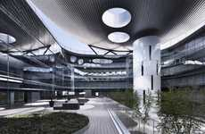 Patient-Based Hospital Designs - The Rey Juan Carlos Hospital by Rafael De La-Hoz is Contemporary