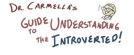 Creative Communication Guides - The 'Guide To Understanding the Introverted' is Cartoon-Like