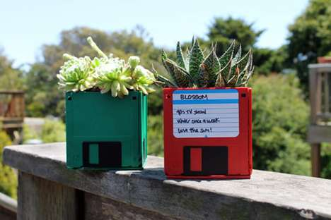 The Brit & Co. Blog Shows How to Make Nerdy Plant Pots