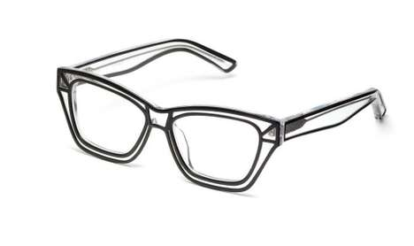 Line-Drawing Eyeglasses