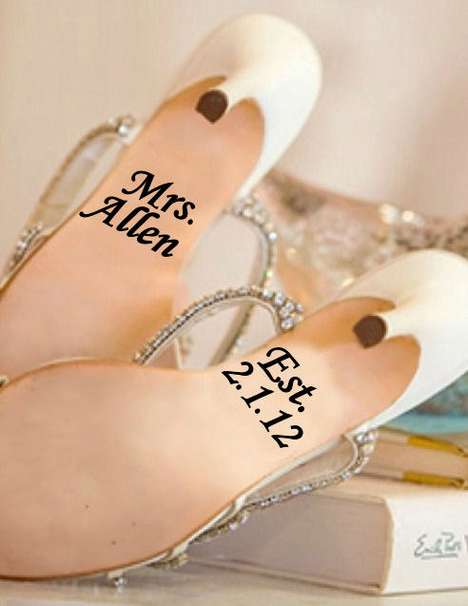 Matrimonial Sole Embellishments