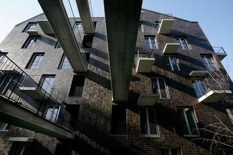Bridged Balcony Buildings