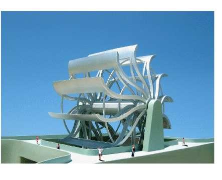 Tourist-Attracting Energy Generators
