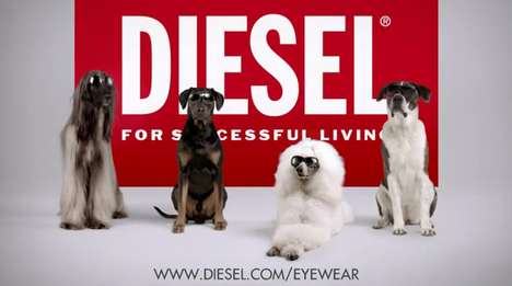 Chic Canine Campaigns - The Diesel Spring Summer Ad is Unexpected