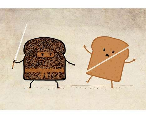 100 Bizarre Bread Concepts