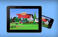 Choo Choo Conductor Apps - The Toca Train for iOS Puts Players in Charge of a Virtual Locomotive