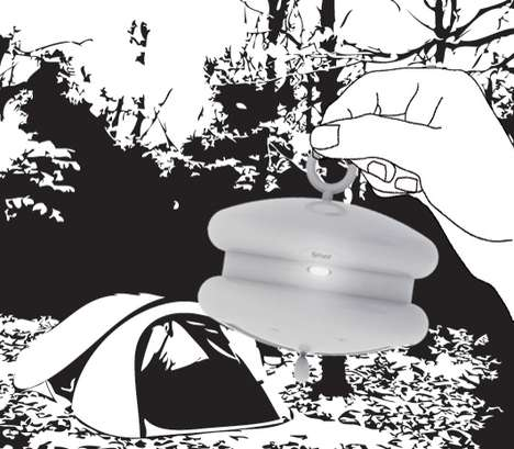 Accordion Camping Lamps