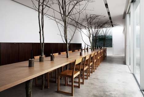 Charles Kaisin Turns the Dining Experience into a Forest