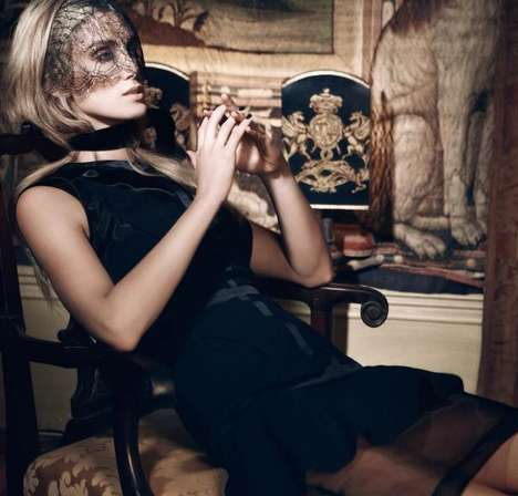 Gothic Songstress Photoshoots - Vogue Australia Features Delta Goodrem for the First Time