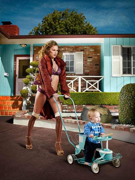 Subversive Suburban Photoshoots